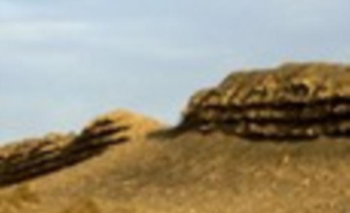 24 kilometers Han Great Wall Ruins Found in West China's Gansu