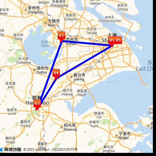 Google Map Request: Suzhou, Hangzhou & Wuzhen Water Town