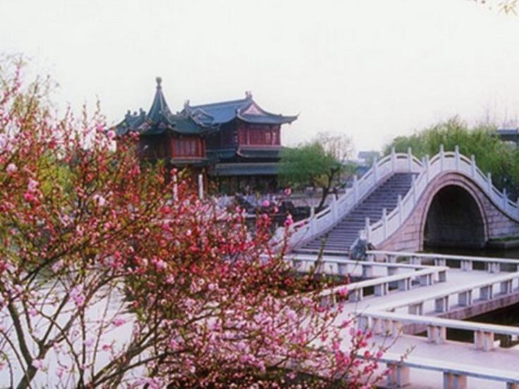 jardin au sud de la Chine