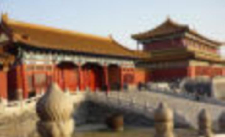 Tibetan Buddhist Palace under Reconstruction