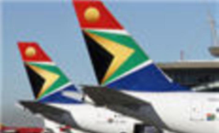 Johannesburg - Beijing flight