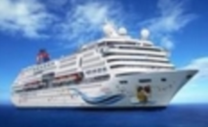 First Luxury Ocean Cruise Ship Set Sail from Tianjin