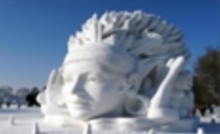 A Jugar con Snowman en Harbin