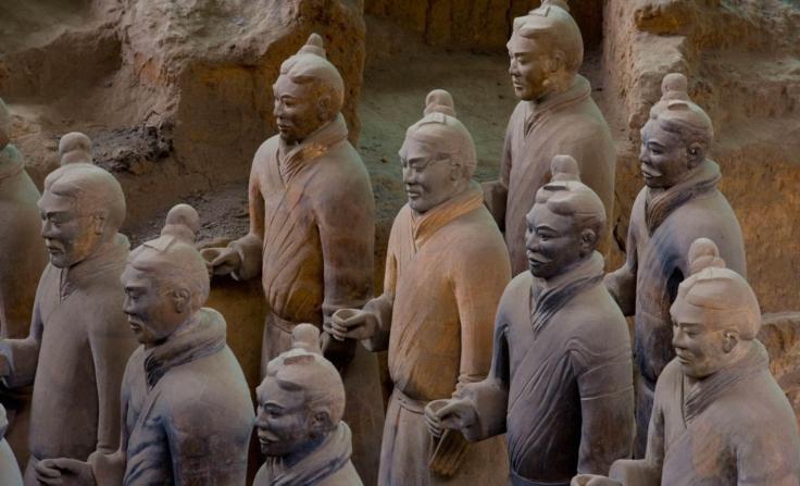 Museo de terracota y de corceles de bronce