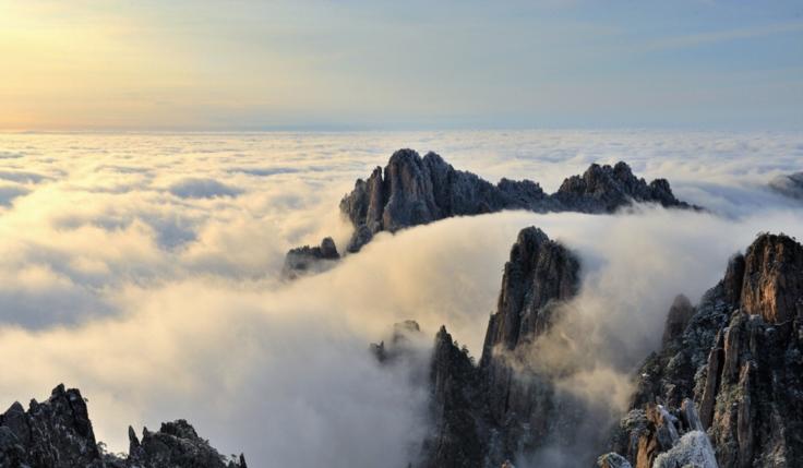 Montaña Amarilla -Huangshan