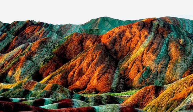 Montañas Arcoíris – Zhangye Danxia