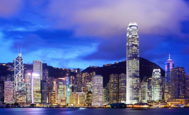 Paisaje Nocturno de Hongkong