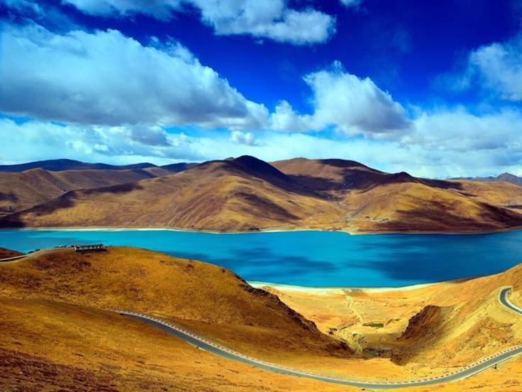 Lago Yangdrok