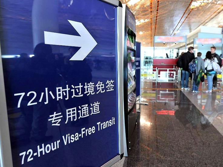 Visa Free pour les transits via Pékin