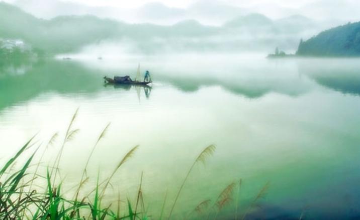 Vues féeriques du fleuve Xin'an