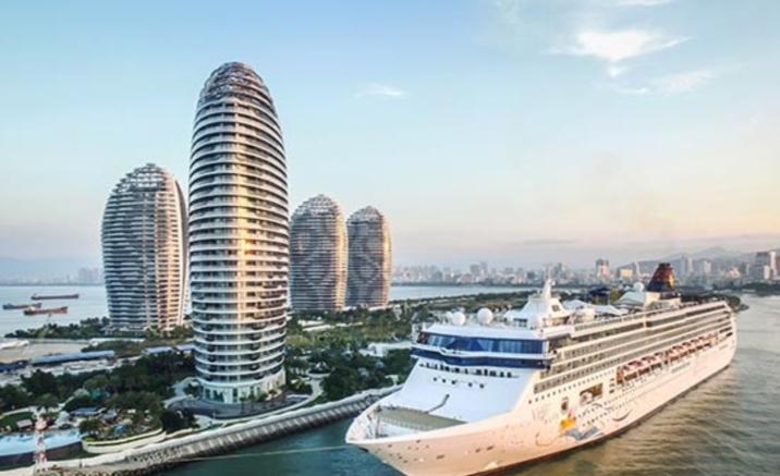 Relaxe au bord de la mer de Chine méridionale