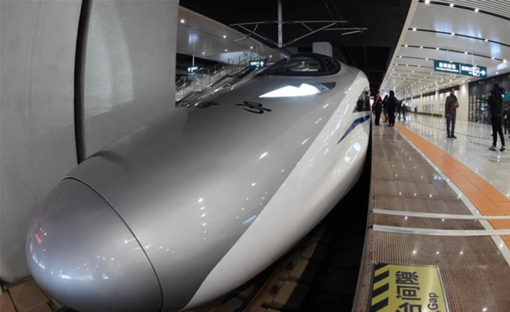 Shanghai-Kunming high speed railway to be operated