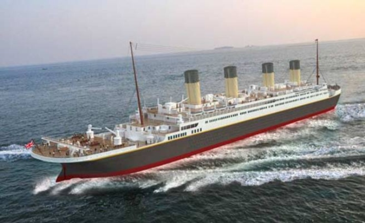 Life-size Titanic Replica under Construction in Sichuan