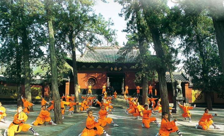 Luoyang, la Runa del Kungfu