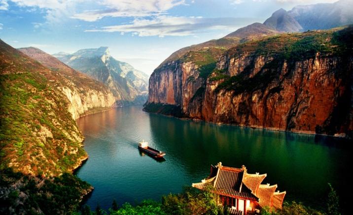 Un paseo en crucero por el Río Yangtze