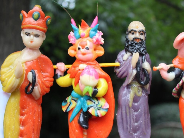 Dough Figure, Skilled Chinese Folk Art