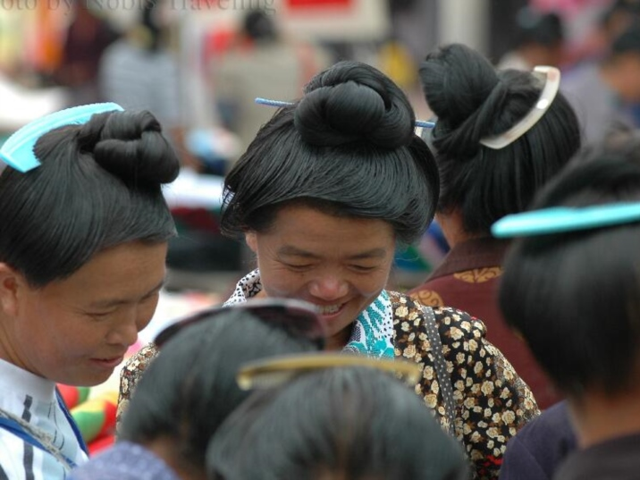The Village of Longest Hair in Guangxi Province