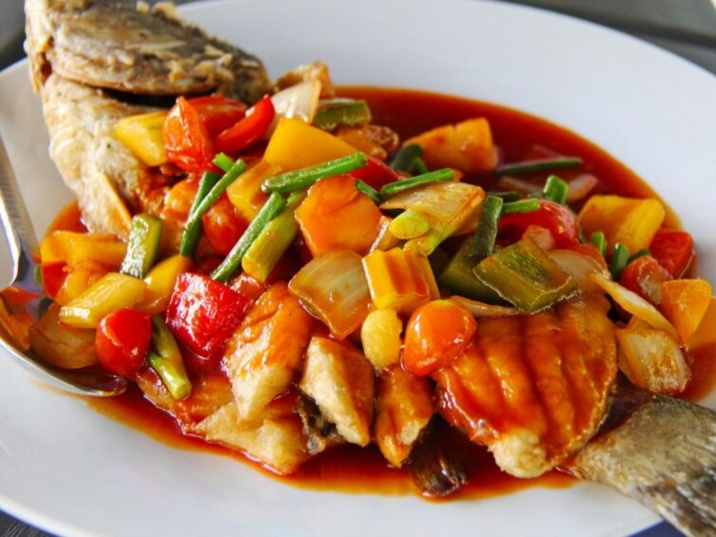 West Lake Sour Fish - a famous dish of Zhejiang cuisine