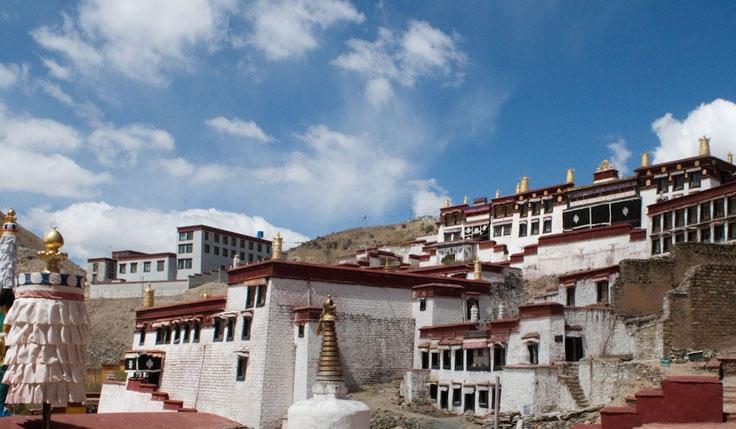 Tibet Yumbulakhang Palace