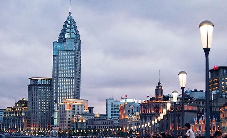 Bund in Shanghai