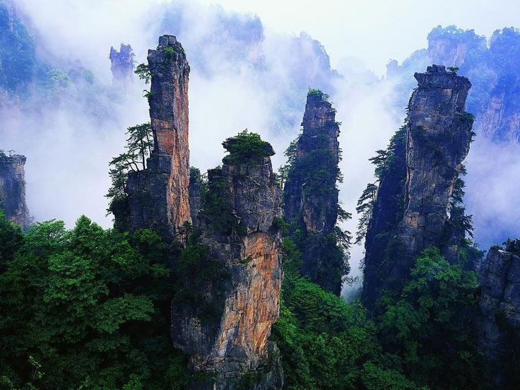 Mount Tianzi