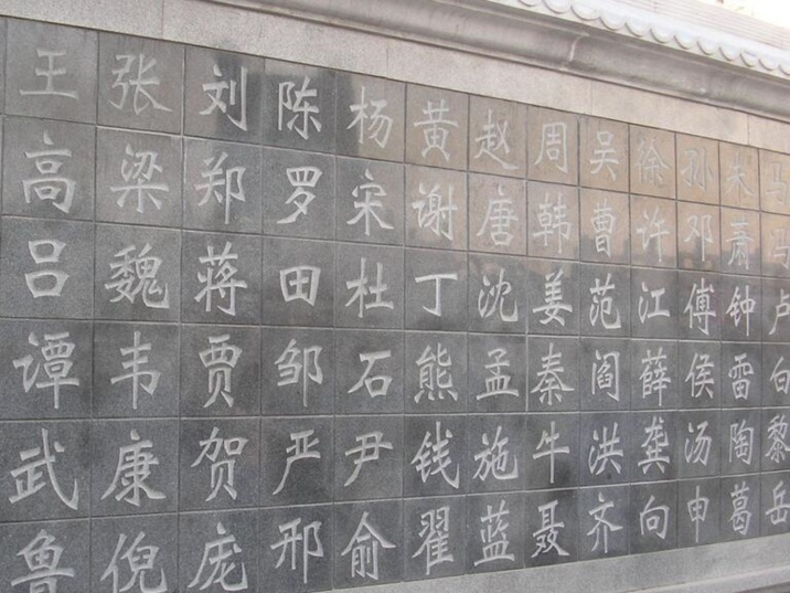 Chinese Hundred Family Names