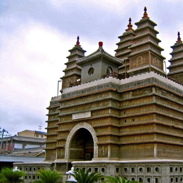 Five-Pagoda Temple – Hohhot City Inner Mongolia Autonumous Region
