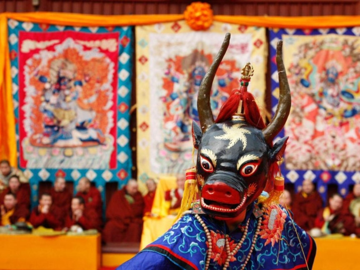 'Losar', the Tibetan New Year Celebrations