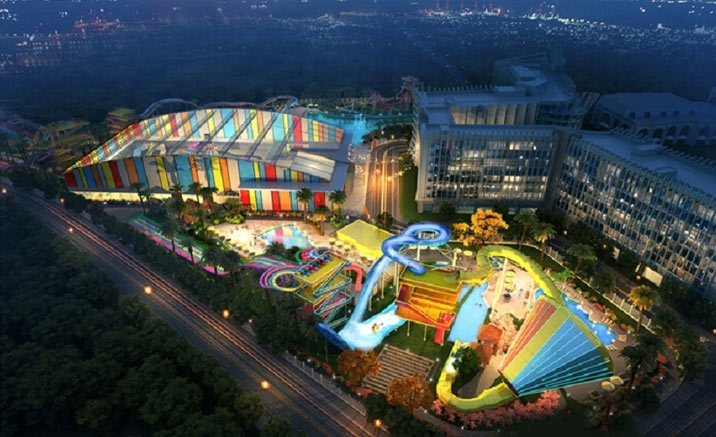 China's first Wet 'n' Wild water park being built in Haikou