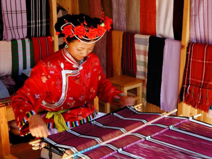 The Mosuo, an ethnic group in Lugu Lake area