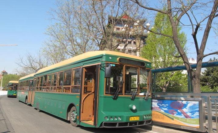Beijing vintage trolley