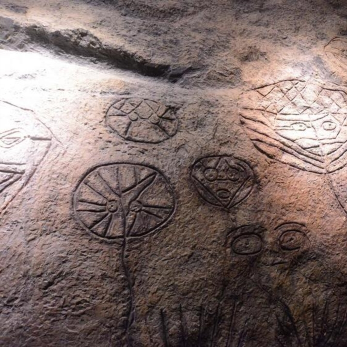 Rock Paintings of the Helan Mountain