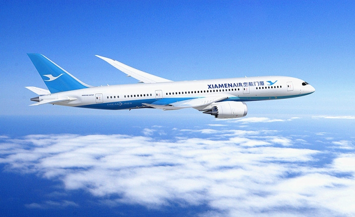 Direct flight between Vancouver and Xiamen was launched