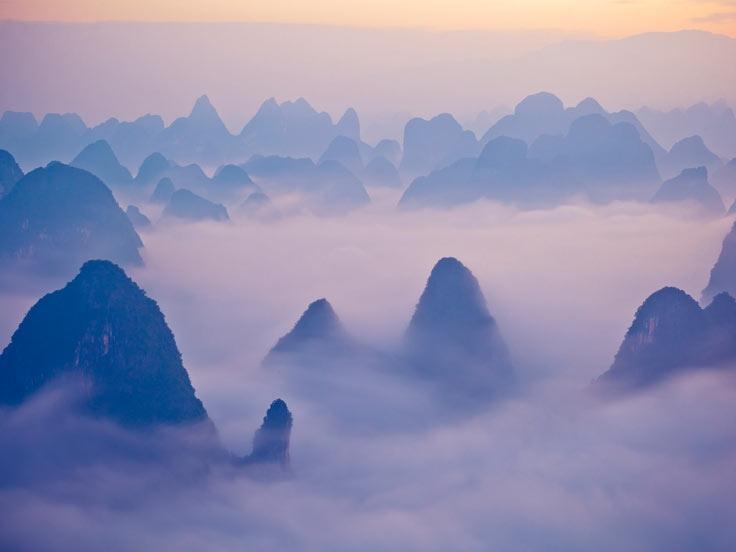Romantic Honeymoon Vacation in Guilin