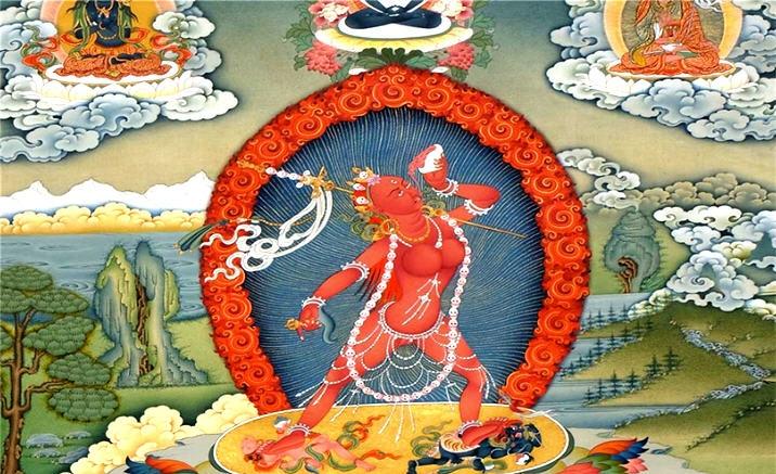 Tibetan Thangka exhibition