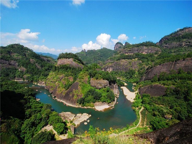 Wuyi Danxia Landforms Tours