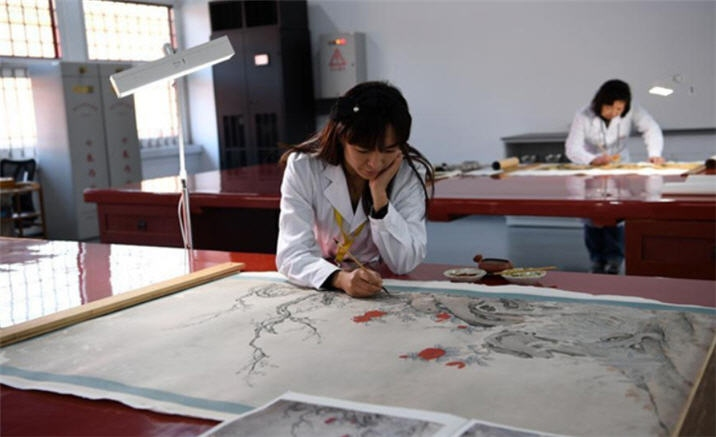 Palace Museum's conservation worksho