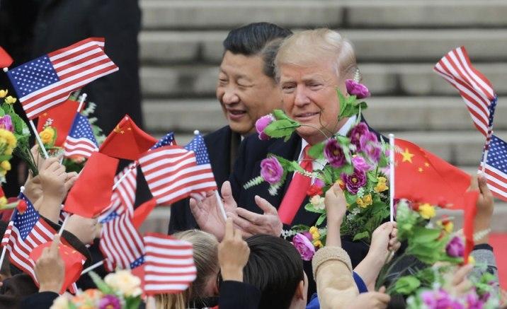 Trump Donald in Beijing