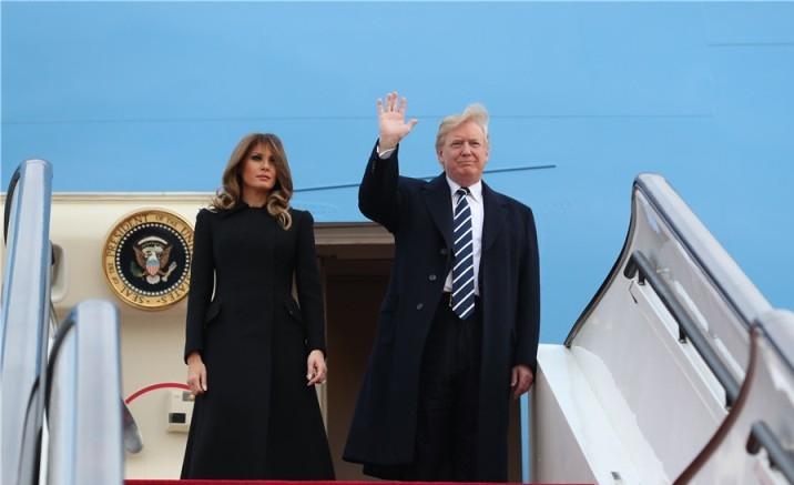 Donald Trump & Melania Trump