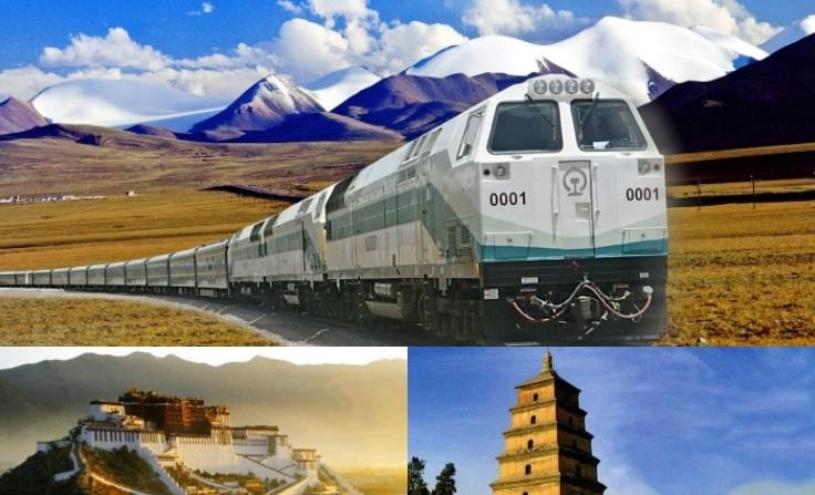 青蔵鉄道乗車 チベットの聖地・ラサとシルクロードの都・西安