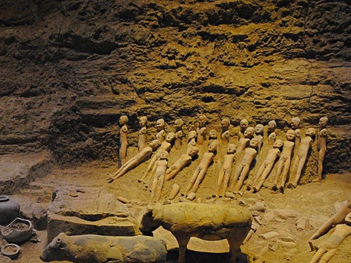 漢代陽陵地下博物館