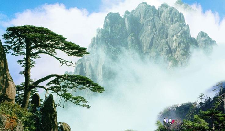 Extension au mont Huangshan