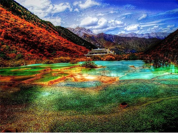 Vallée de Jiuzhaigou