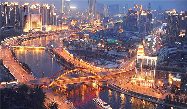 Ville d'eau du nord - Tianjin