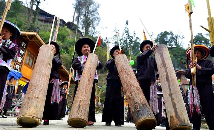 Ethnie Miao de Guizhou : Festival du Culte du Pont