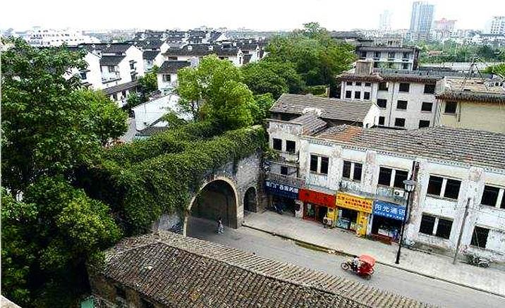 Suzhou: Les anciens murs à protéger