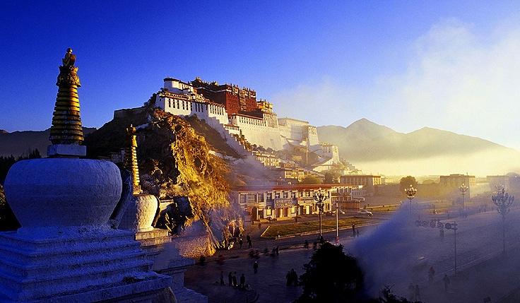 De la Plaine au Plateau tibétain