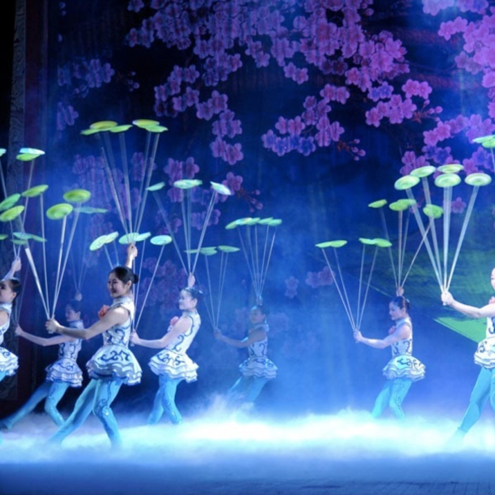 Acrobatics at Chaoyang Theatre