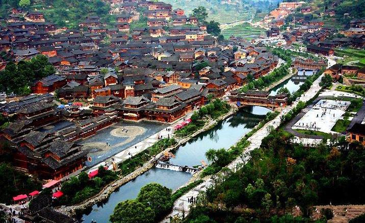 Village des Miao, province du Guizhou
