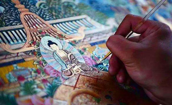 Beijing : la plus grande exposition de l'art tibétain de Thangkas